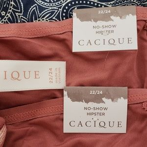 Cacique Intimates & Sleepwear - CACIQUE *nwt* Sz 22/24 Bralette & 2 Panties
